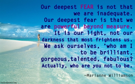 Marianne williamson quote