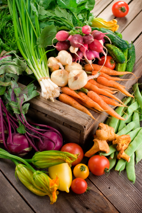 Organic vegetables and other foods help revitalize your energy. Photo by wellnesstoday.com.